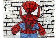 Superheroes / Knit and crochet superheroes