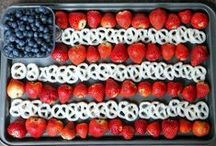 Fourth of July / Everything you need to celebrate the 4th of July: recipes and menu ideas, DIY kids' crafts, holiday decor, activities, and more.