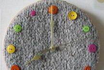 Clocks / Knit and crochet timepieces