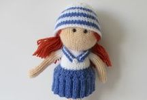 Sailors / Sailor dolls and nautical inspired knit and crochet