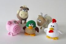 Farmyard / Knit and Crochet farms
