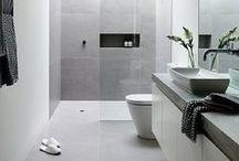Interiors: small bathrooms