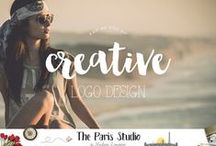 4. Creative Business Branding Logo Design / Logo and Branding Design for Photographers, Designers, Artists, Studio and Etsy shops - visit us at TheParisStudio.com for more!