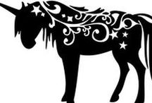 Unicorns / mythical creatures: fantasy and magical beings