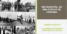 GUIAS DE LECTURA / Guías de lectura sobre temas de actualidad publicadas en los últimos años por la Red Municipal de Bibliotecas de Córdoba.