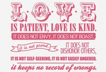 love. / by Leah Mattingly