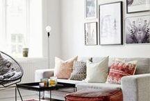 home decor & interior design / wonderful ideas for space. styles I love.