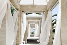 Luxurious Hotels / We've been around the world and found the most exquisite lodgings where you're bound to feel at home....away from home. / by TheBridalCircle® | Sade Awe