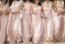 Bridesmaids  / Gorgeous gowns and accessories for your Pretty Maids All in a Row.