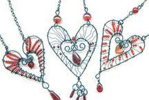 JOYAS-ALAMBRE 1 / Esquemas, tutoriales y algunas ideas para hacer bisutería con alambre/Diagrams, tutorials and ideas for making wire jewelry