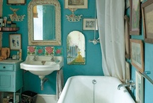 bathrooms / by Debra J
