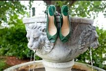 Green & aubergine wedding / by Laurie Woodward