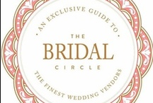 The Bridal Circle: Creative Partners / Our Creative Partners are the best, brightest and most beautiful in luxury weddings!  Take a peek... we're sure you'll agree! / by TheBridalCircle® | Sade Awe