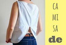 COSTURA-SEWING / O cosas hechas con ropa, hilos, lanas.....Esquemas e ideas que  son para coser