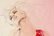 Illustration / Gorgeous Fashion Illustrations to delight and inspire! / by TheBridalCircle® | Sade Awe