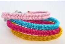 JOYAS-MACRAMÉ, NUDOS, TRENZADOS-2 / Tutoriales, esquemas e ideas para hacer pequeñas joyas con todo lo que esté hecho de hilos, cordones......