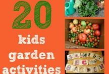 Gardening with Children / Children love nature. Here are ways to teach children more about caring for nature and gardening.