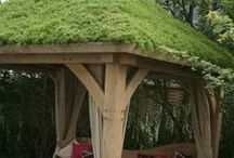 Roof Gardens / Planting ideas for roof gardens. A new concept still, but roof gardens are popping up everywhere.