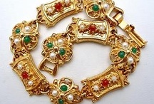 Jewelry - Vintage Costume / Lovely Vintage Jewelry - from the mid 1800s to the late 1980s you'll find it all here.  / by Sarah Plummer