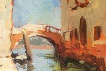 BaranPochade.com / small plein air oil sketches by Maciej Baran