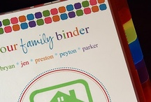 Organizing - Binders / by Amanda