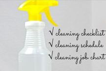 Cleaning - Schedules / by Amanda