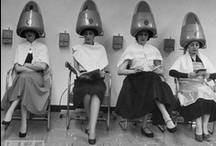 Beauty Salon back in the day! / Everything to do with the vintage hair biz!