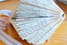 PAPER ART with BOOKS / or magazines....Tutoriales e ideas