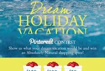 Absolutely Natural Dream Holiday Vacation Pinterest Contest 2013 / For my Absolutely Natural Dream Holiday Vacation, I chose Maui, Hawaii.  I have been fortunate enough to travel there once in the past where we were first introduced to Absolutely Natural products.  The things we experienced, and the memories we took away from it are amazing.  There are a lot of places in the world I would like to see, however, if given the chance to go anywhere in the world, I would go back to Maui in a second! / by Megan Kieffer