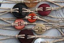 JOYAS-MACRAMÉ, NUDOS, TRENZADOS-3 / Tutoriales, esquemas e ideas para hacer pequeñas joyas con todo lo que esté hecho de hilos, cordones......