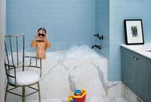 9 (bath) / Splish, splash, rub, and dub. / by CS Fergusson