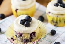 Blueberry Sweet Things / Delicious recipes using my favorite fruit blueberries! / by Amanda