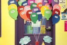Fabulous Bulletin Boards & Classroom Doors / Door Decs For The Classroom!