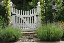 Garden Gates / Garden Gates that are fun, unusual, traditional, functional and more! Ideas to build your own gates as well as pins on how to build your own gates.
