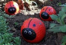 Whimsey in the Garden / Create the unexpected in your garden!