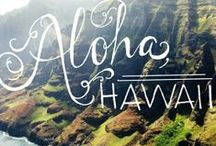 a l o h a  h a w a i i / Everything Hawaii! Always dreamed of going there or even moving there!
