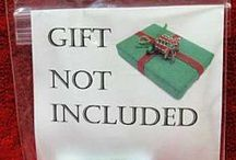 The Gift of Giving / Gift ideas
