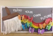 Classroom Decor / Decorations and bulletin board ideas