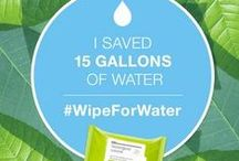 w a t e r  b a b y / Water Conservation, ala Neutrogena Wipe for Water & Influenster