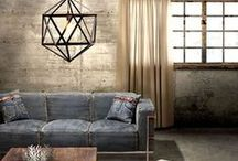 industrial decor / art, grit, & industrial beauty. images of the urban environment inside & out.