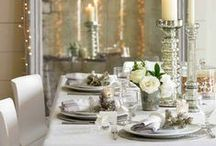 Photo Ready Dining Rooms / Inspiration for entertaining this holiday season!