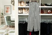 Closet Envy / Get inspired to clean up your closet with these dreamy abodes and organizational tips.