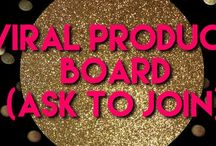 Viral Product Board / Viral Products Live! Ask to join: follow board and follow me (MaryBeth) and shoot me a message!  No more than 3 posts per day - Products Only- no blog posts or you will be removed. Add collabs but ask first! ❤️❤️
