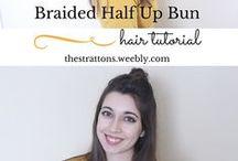 ⇢ hair inspiration / Hair Inspiration! Cute hairstyles, no heat hairstyles, long short and medium hair lengths. Hair colors