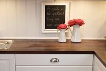 Design Finishes: Paint, Tile, Counters, etc.
