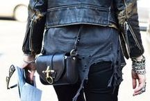 Grunge Rock Is The New Boho??? / Spikes, Studs, The New Punk Rocker chic look reinvented,,,look out for vamps!  Anna does it again, from Gala to trend!