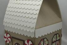 gingerbread house ideas / by Karen Haddon