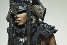 Wayward Warrior Princess / Its a bird, its a crown, its a coat of armor, its a strong woman expressed thru art and design, its fashion!