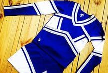 Soffe Cheer Uniforms / Since 1946, M.J. Soffe LLC has produced versatile active apparel for athletes of all ages. Now you can outfit your cheer team in uniforms from Soffe with moisture-wicking performance fabrications! The Soffe cheer uniform line includes shell tops, skirts and bodyliners made with athletic fabrics that wick away moisture. Available at exclusive retailers only, including Omni Cheer, Soffe cheerleading uniforms are great for competition and game day.  / by Soffe