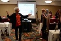 Speaking Engagements / Wonderful events where I have been honored to speak and share my gifts of fun and wellness. Just love sharing positive energy and energizing the people to create playfulness, power and passion in their lifes!